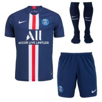 19-20 PSG Home Soccer Jersey Men Full Kit(Shirt+Short+Socks)