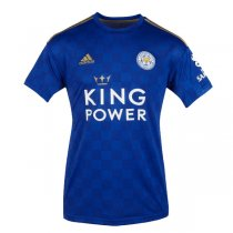19-20 Leicester City Home Soccer Jersey Shirt