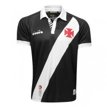 19-20 Vasco da Gama Home Black Soccer Jersey Shirt