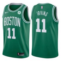 2017-2018 Boston Celtics Kyrie Irving Icon Green Jersey