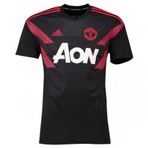 18-19 Manchester United Pre Match Shirt Black