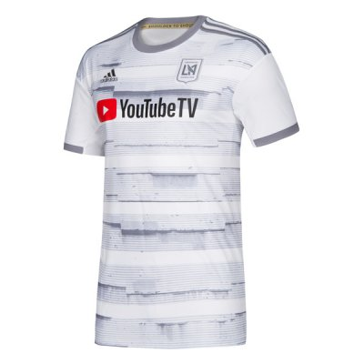 2019 LAFC White Away Soccer Jersey Shirt