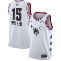 Charlotte Hornets Kemba Walker 2019 ALL STAR Swingman Jersey White