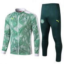 19-20 Palmeiras Light Green Print Jacket Kit