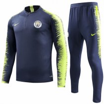 1819 Manchester City Navy Sleeve and pant Print Tracksuit