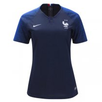 2018 France Women Home Jersey Two Star