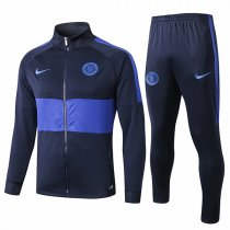 19-20 Chelsea Navy&Blue High Neck Jacket Kit