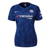 19-20 Chelsea Home Women Soccer Jersey Shirt