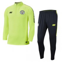 2019 Manchester City Dri-FIT Squad Training Suit Green