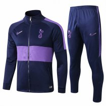 19-20 Tottenham Hotspur Purple&Blue Jacket Kit