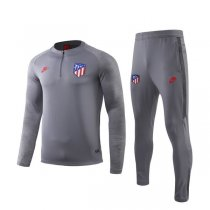 19-20 Atletico Madrid Light Gray Training Suit