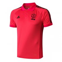 2019 Manchester United Red Polo Shirt