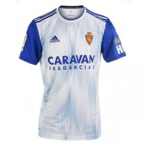 19-20 Real Zaragoza Home Blue Soccer Jersey
