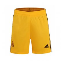 19-20 Real Madrid Home Goalkeeper Yellow Jersey Short