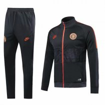 19-20 Chelsea Black&Orange High Neck Jacket Kit