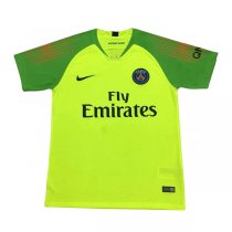 1819 PSG Goalkeeper Green Soccer Jersey Shirt