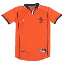 1998 World Cup Holland Home Retro Jersey Shirt