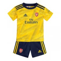 19-20 Arsenal Away Soccer Jersey Kids Kit