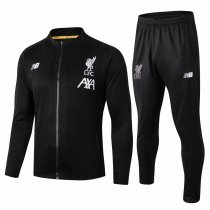 19-20 Liverpool All Black Jacket Kit