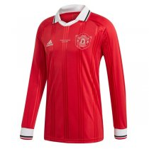 19-20 Manchester United Icon Long Sleeve Jersey Red