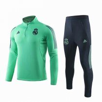 19-20 Real Madrid Light Green Champion League Training Suit
