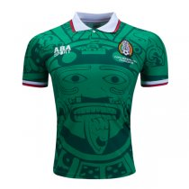 1998 World Cup Mexico Home Retro Jersey Shirt