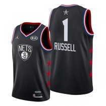 Brooklyn Nets D'Angelo Russell Black 2019 All-Star Jersey