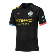 19-20 Manchester City Authentic Away Soccer Jersey (Player Version)