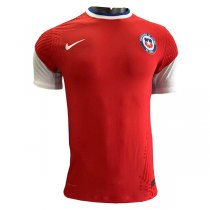 2020 Chile Home Red Authentic Soccer Jersey Shirt (Player Version)
