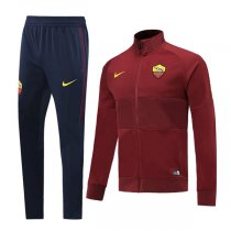 19-20 AS Roma Red High Neck Jacket Kit