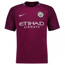 Manchester City 17/18 Away Soccer Jersey Shirt