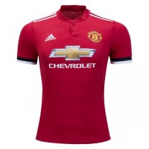 Manchester United 17/18 Authentic Home Jersey(Player Version)