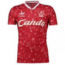 1989-1991 Liverpool Home Candy Retro Jersey