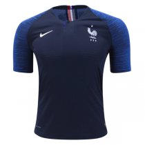 2018 France Authentic Home Jersey (Player version)