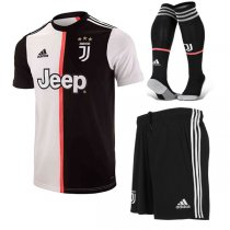19-20 Juventus Home Soccer Jersey Men Full Kit(Shirt+Short+Sock)