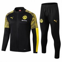 19-20 BVB Borussia Dortmund Black Zebra Sleeve Jacket Kit