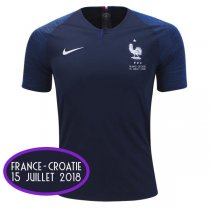 2018 France Home World Cup Final Jersey (Fans Version)
