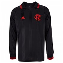 19-20 Flamengo Icon Long Sleeve Soccer Jersey Black
