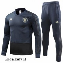 Kids 1819 Manchester United Navy Tracksuit