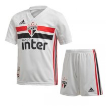 19-20 Sao Paulo Home Soccer Kids Kit