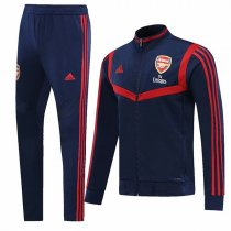 19-20 Arsenal Navy&Red High Neck Jacket Kit