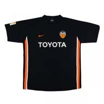 2006-2007 Valencia Away Retro Black Jersey