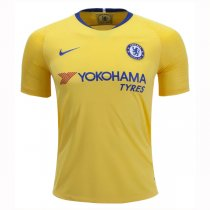 1819 Chelsea Away Yellow Soccer Jersey Shirt