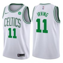 2017-2018 Boston Celtics Kyrie Irving Association White Jersey