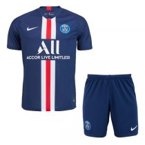 19-20 PSG Home Soccer Jersey Men Kit(Shirt+Short)