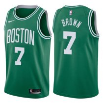2017-2018 Boston Celtics Jaylen Brown Icon Green Jersey