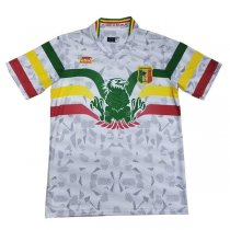 2019 Africa Cup Mali Away White Soccer Jersey
