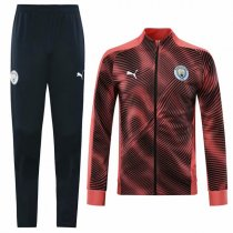 19-20 Manchester City Pink Zebra pattern Jacket Kit