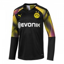 19-20 Borussia Dortmund Black Long Sleeve Goalkeeper Jersey