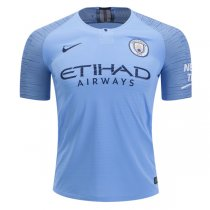 1819 Manchester City Home Authentic Jersey( Player Version)